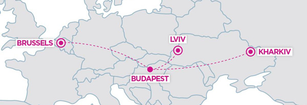 Preview: WIZZ AIR : NOUVELLE ROUTE ENTRE BRUXELLES-NATIONAL ET BUDAPEST