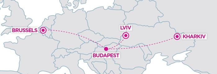 WIZZ AIR : NOUVELLE ROUTE ENTRE BRUXELLES-NATIONAL ET BUDAPEST