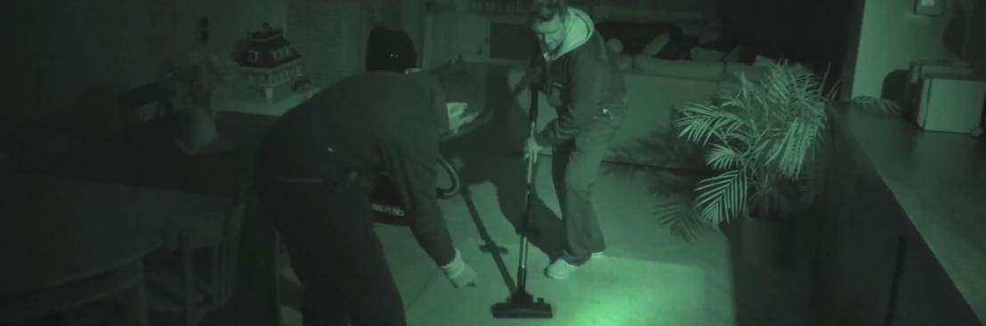 Bosch sluipt 's nachts binnen … om te stofzuigen