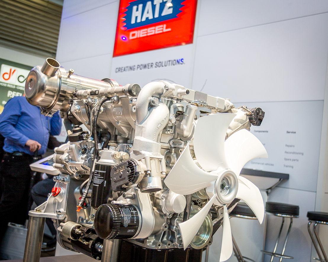 Hatz feiert Cemat-Asia-Premiere – im Mittelpunkt stehen die neuen flüssigkeitsgekühlten Hatz H-Serie Dieselmotoren