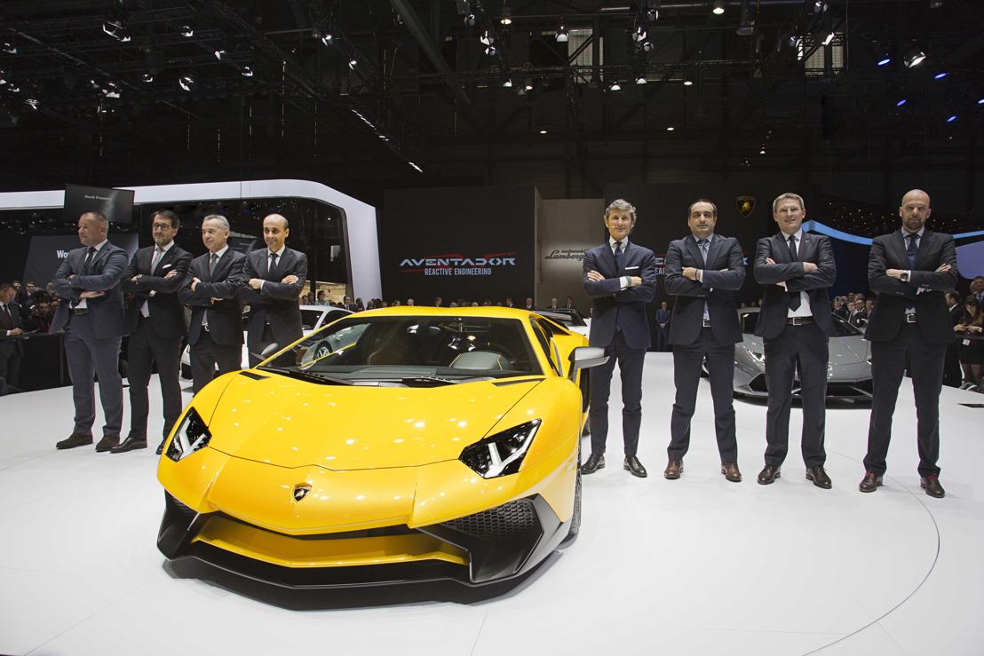 Leverings- en omzetrecord voor Automobili Lamborghini in 2014