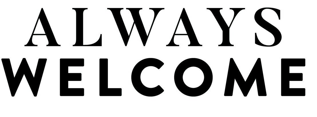 Nieuwe tagline (Altijd welkom/Sens de l'Accueil)