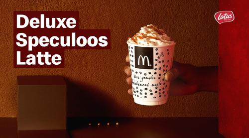 Heerlijke nieuwe latte's bij McDonald's om je aan te verwarmen