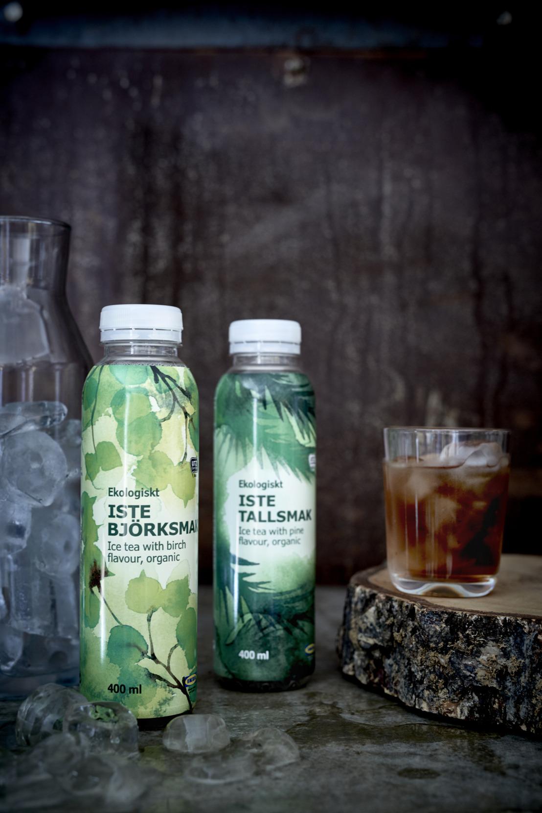 IKEA lance des thés glacés bio aux saveurs bouleau et pin