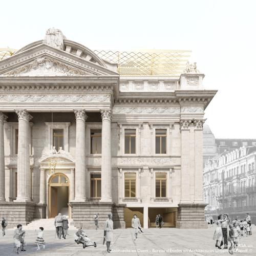 De gerenoveerde Beurs gooit in 2023 haar deuren open
