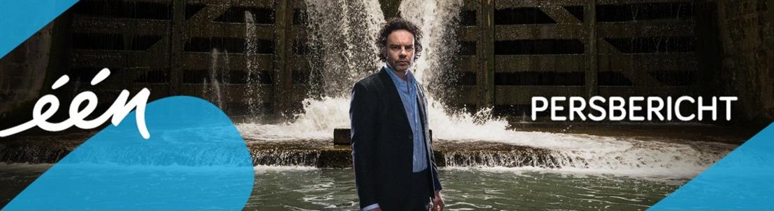 Primeur: eerste beelden van nieuwe Eén-reeks Over water van Tom Lenaerts, Paul Baeten Gronda en Norman Bates