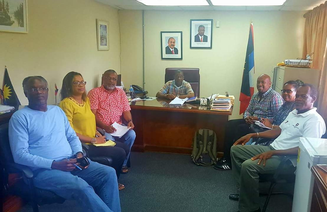 Agricultural stakeholders discuss sub-regional trade in St. John's, Antigua.