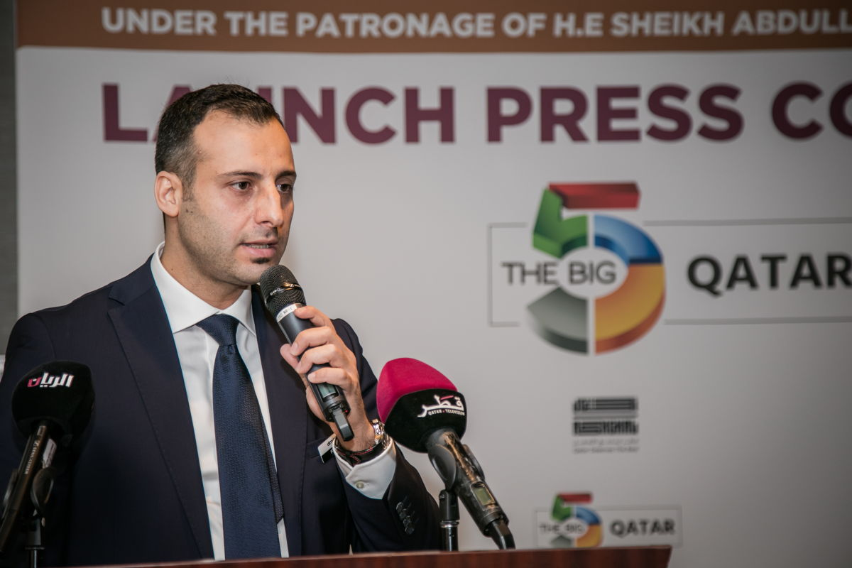Rawad Sleem, Country Manager for dmg events Doha