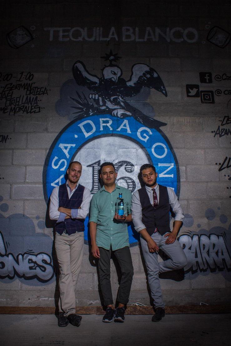 Rusty Cerven, José Luis León y Omar Hamud