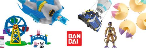 Bandai presenta su selección 'El juguete más deseado' para Navidad y Reyes