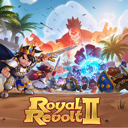 Royal Revolt 2 erhält das bisher größte Update: mit Ninjas, tropischen Inseln und einem echt bösen Bösewicht