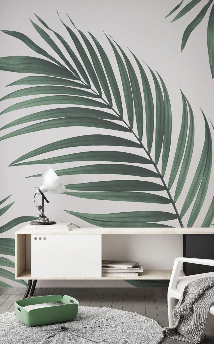 3. Botanicals - Tropical Palm Wallpaper -<br/>https://www.muralswallpaper.com/shop-murals/tropical-palm-wall-mural/