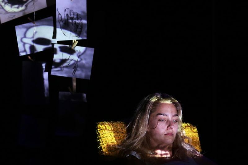 Kai-Ella Lowe in Monster - Cape Town Fringe 2016 - pic Nardus Engelbrecht