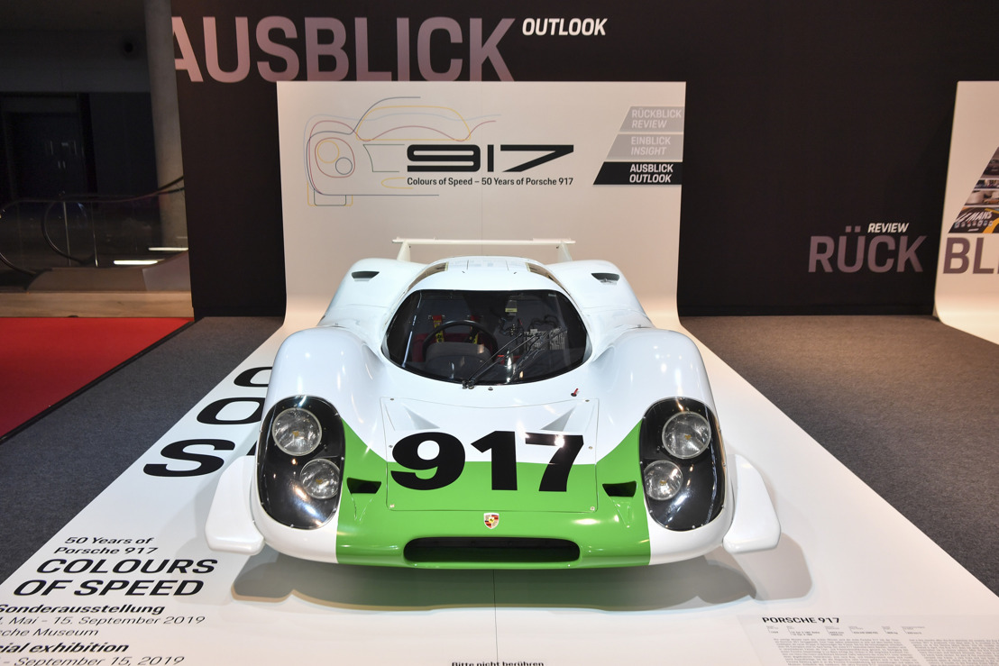 Return of the 917-001 and more than 7,795 PS-powered special exhibition