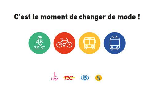 C'est le moment de changer de mode de transport à Liège