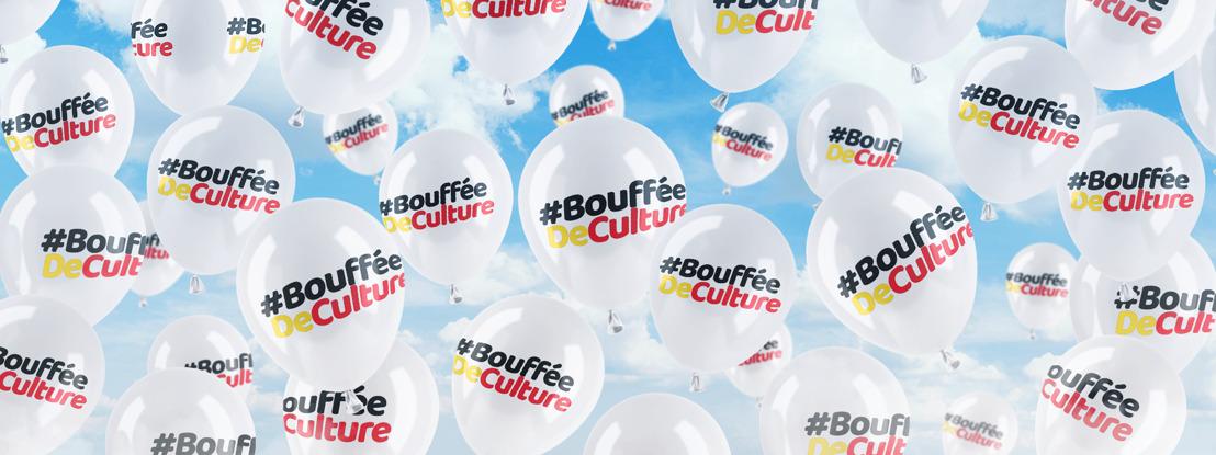 #BoufféeDeCulture ; l'action de soutien à la culture belge des radios Nostalgie, NRJ, Chérie et Nostalgie+