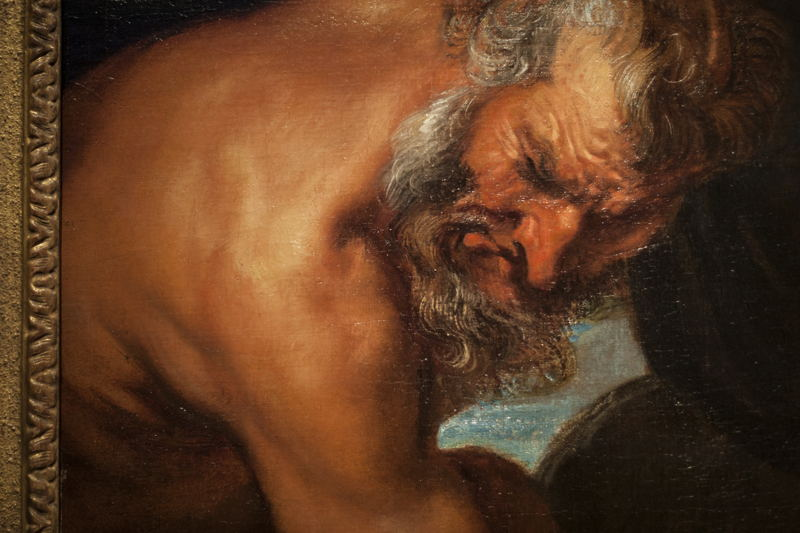 Anthony van Dijck, studiekop van Jupiter, (c) Ans Brys