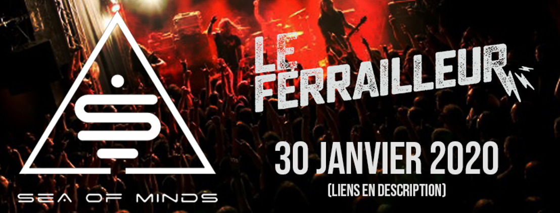 SEA OF MINDS : Le groupe de rock alternatif en concert au Ferrailleur (Nantes) le 30 janvier