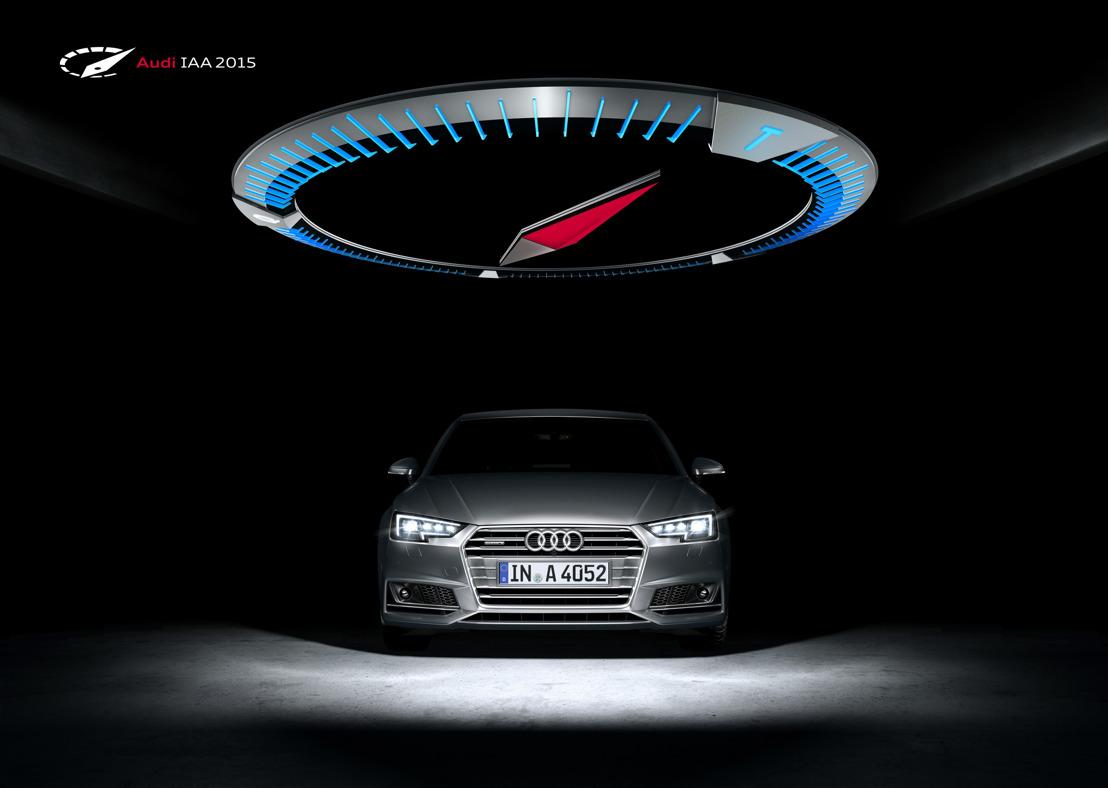 Audi op de IAA 2015: kracht in het viervoud