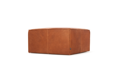 Laust - Footrest, Leather Hermes Bronze