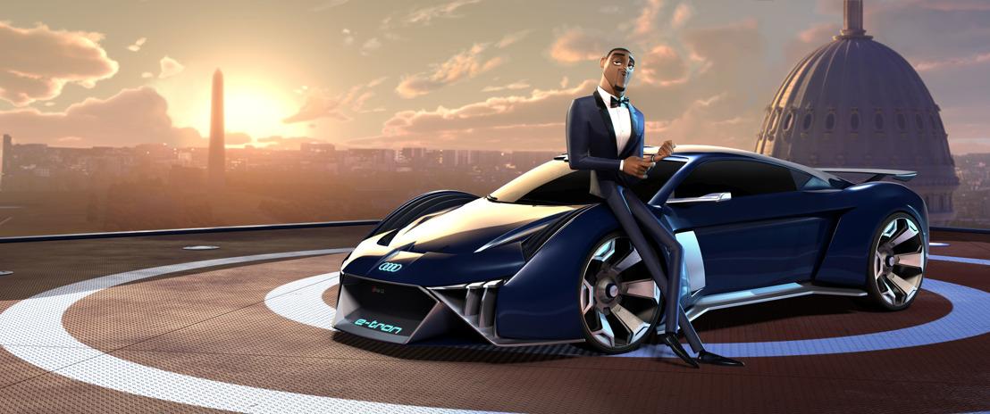 Audi tekent eerste conceptauto voor animatiefilm