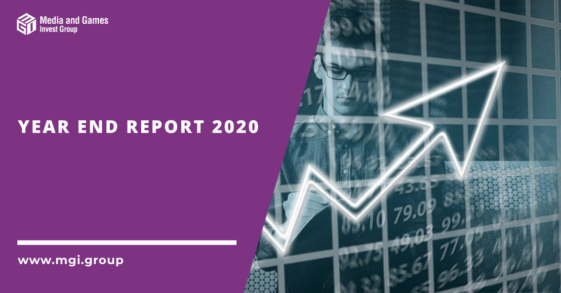 Media and Games Invest publishes its reviewed Year End Report 2020 and reports another record quarter supported by a balanced games and media mix