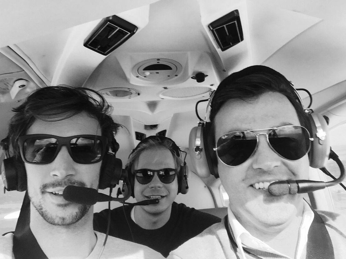 Vavato oprichters:   Fons Tooten (Midden), Kevin Van de Vyver en Pieterjan Van Emelen