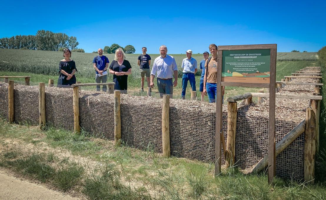Erosiebestrijdingswerken Opperbusingenstraat in Lennik afgerond