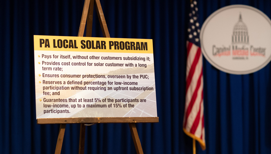 PA Local Solar Program Makes Solar Energy More Accessible for State Residents