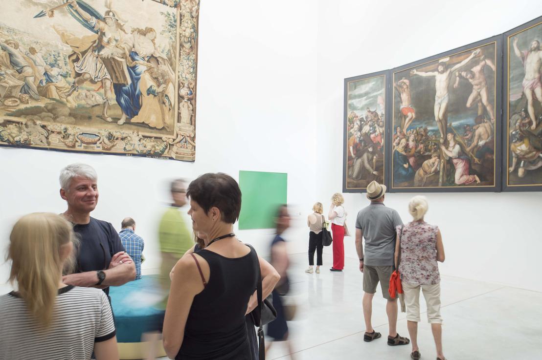 M-Museum Leuven verwelkomde het afgelopen weekend ruim 3.000 bezoekers die het vernieuwde M ontdekten.