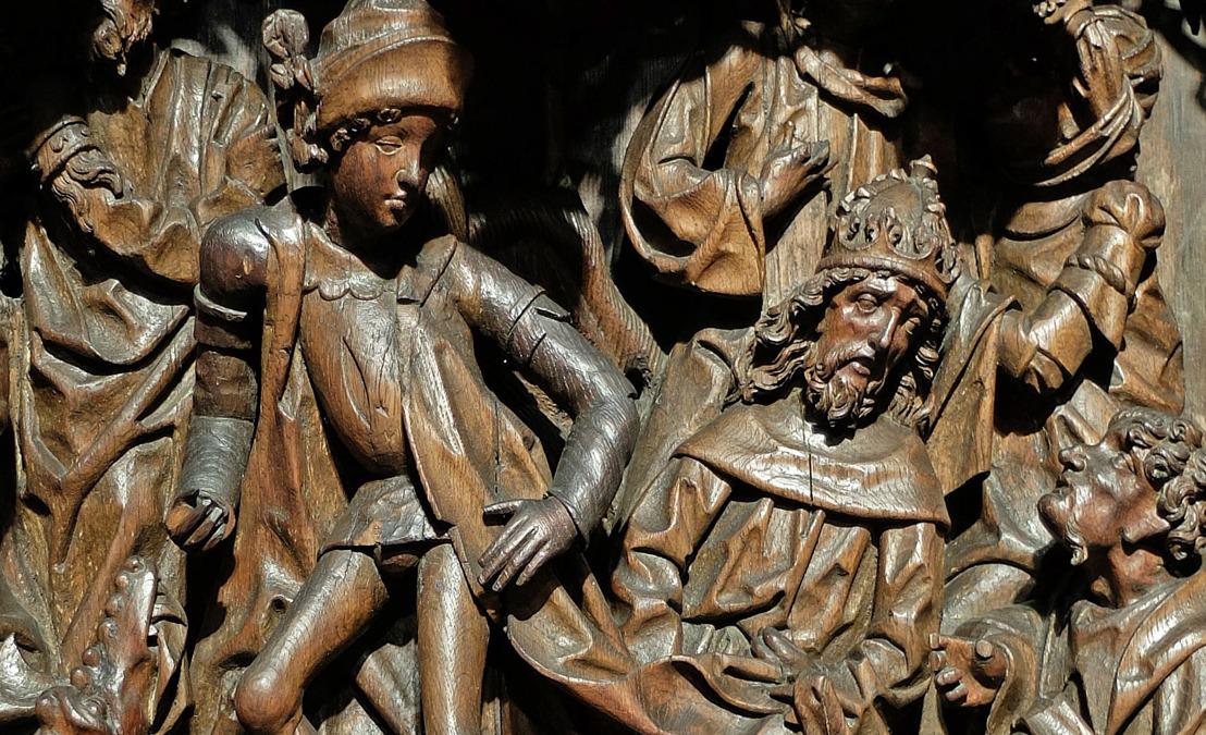 Les sculptures d'Aix-la Chapelle voyagent à Louvain