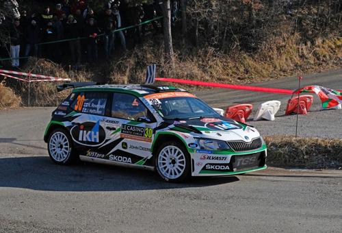 Rally France: ŠKODA Motorsport's Kalle Rovanperä fighting for WRC 2 Pro category lead