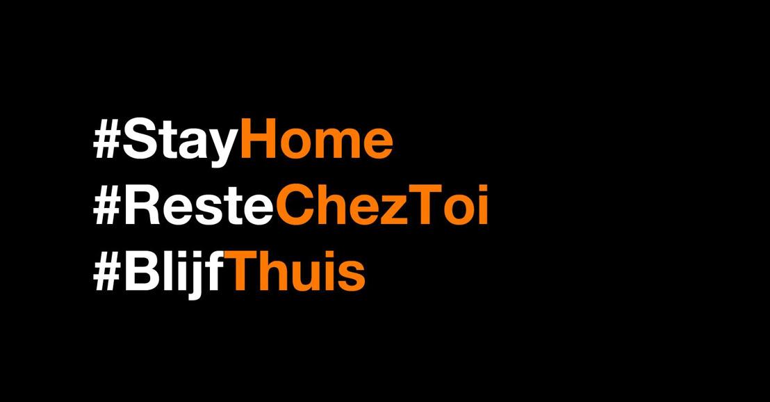 Orange Belgium soutient les mesures de confinement et fournit du support matériel, technique et en cybersécurité au personnel soignant