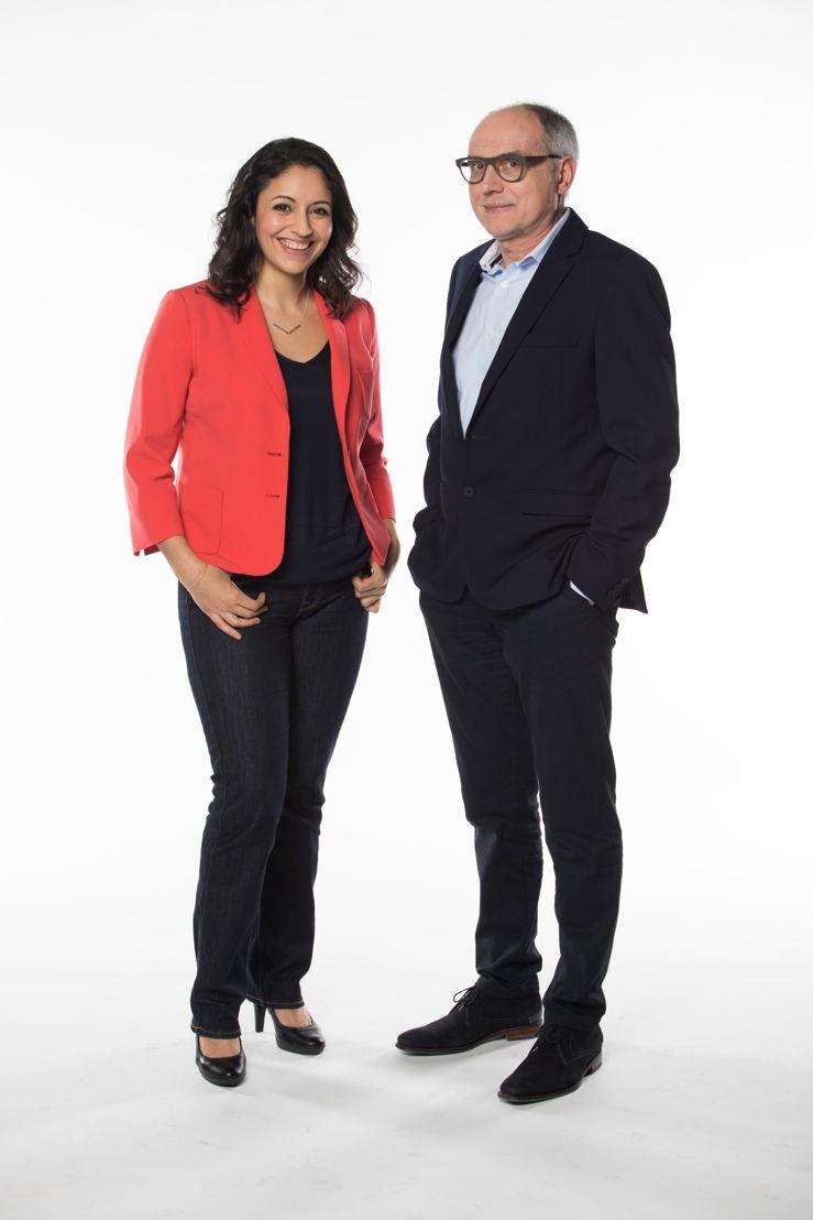 Ihsane en Marc (c) VRT - Geert Van Hoeymissen
