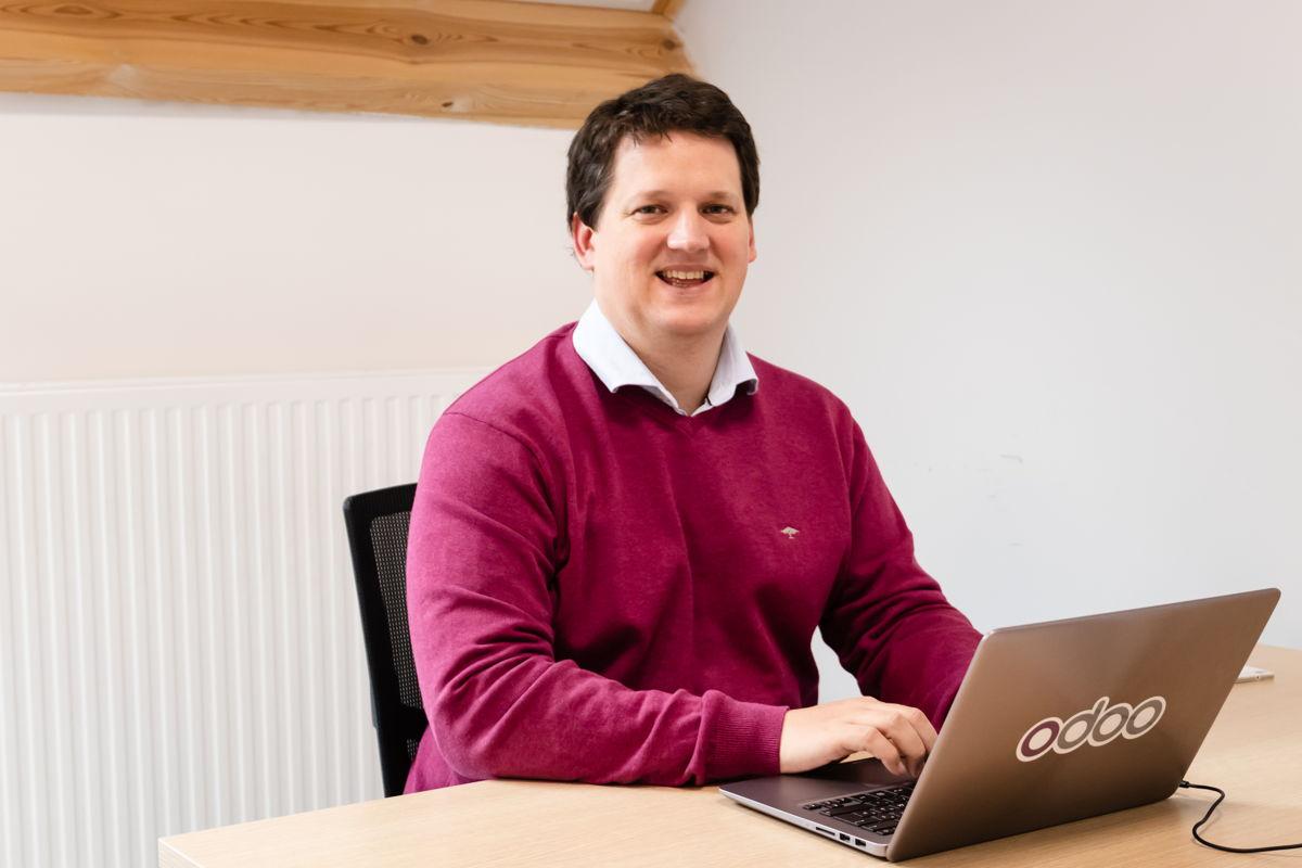 Fabien Pinckaers, CEO Odoo