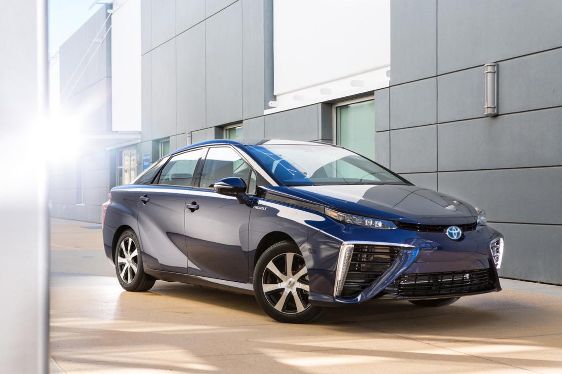 Toyota Mirai: de eerste brandstofcelwagen