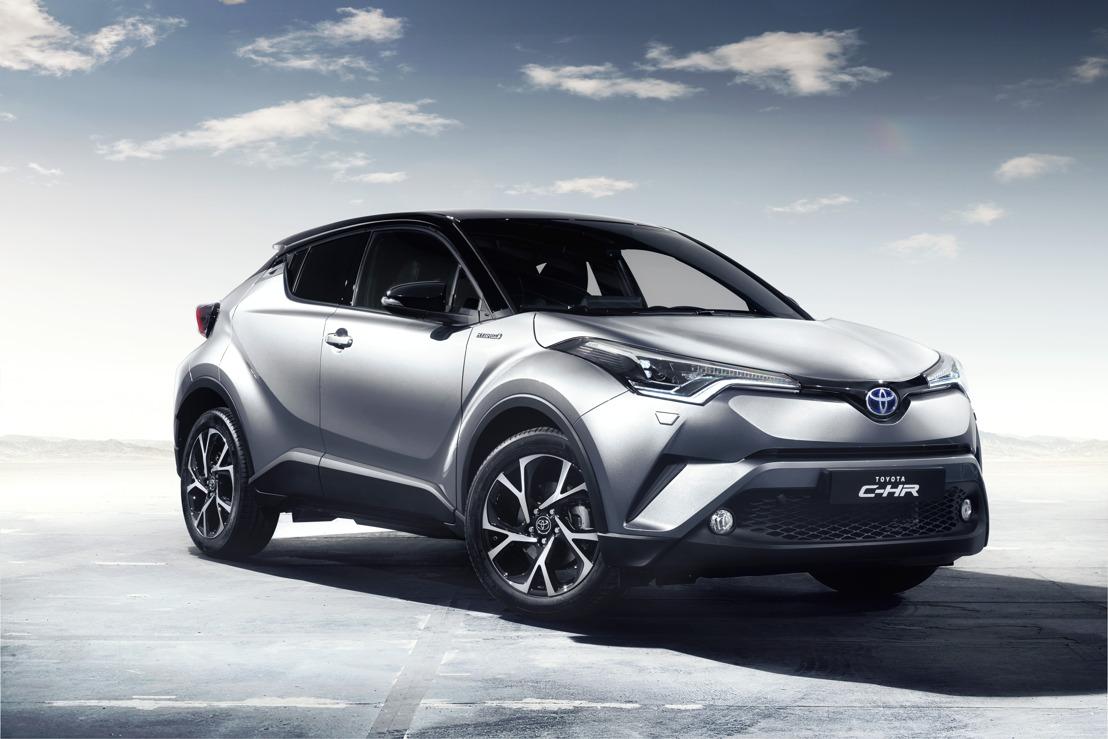 Toyota C-HR – Eerste voorstelling van het geavanceerde interieurdesign van de nieuwe cross-over