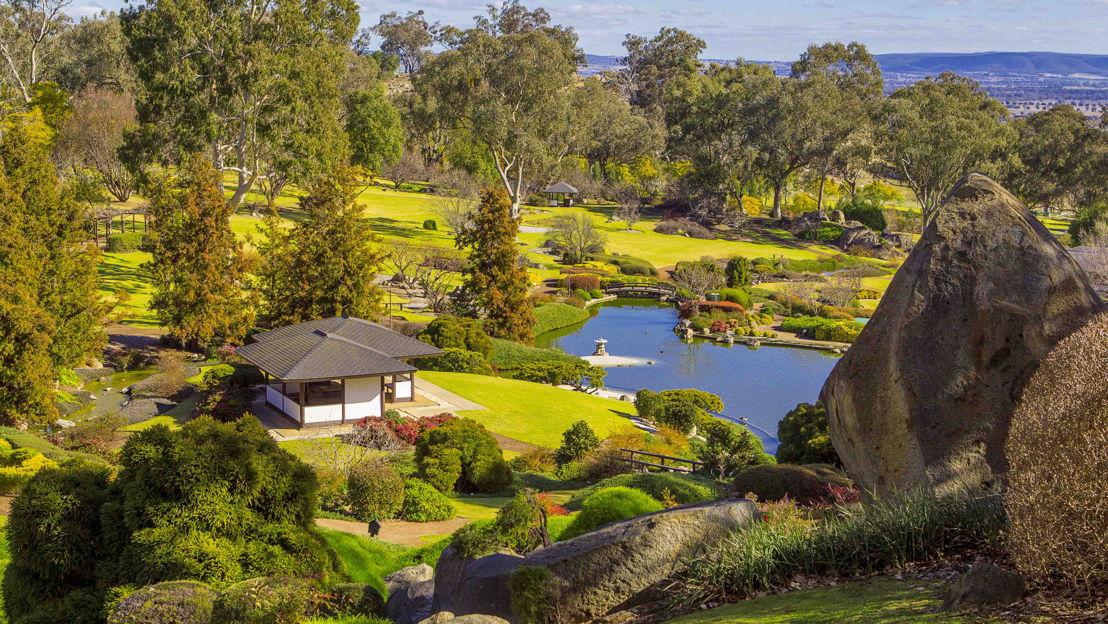 Cowra Japanese Gardens credit: Jason Stephensen