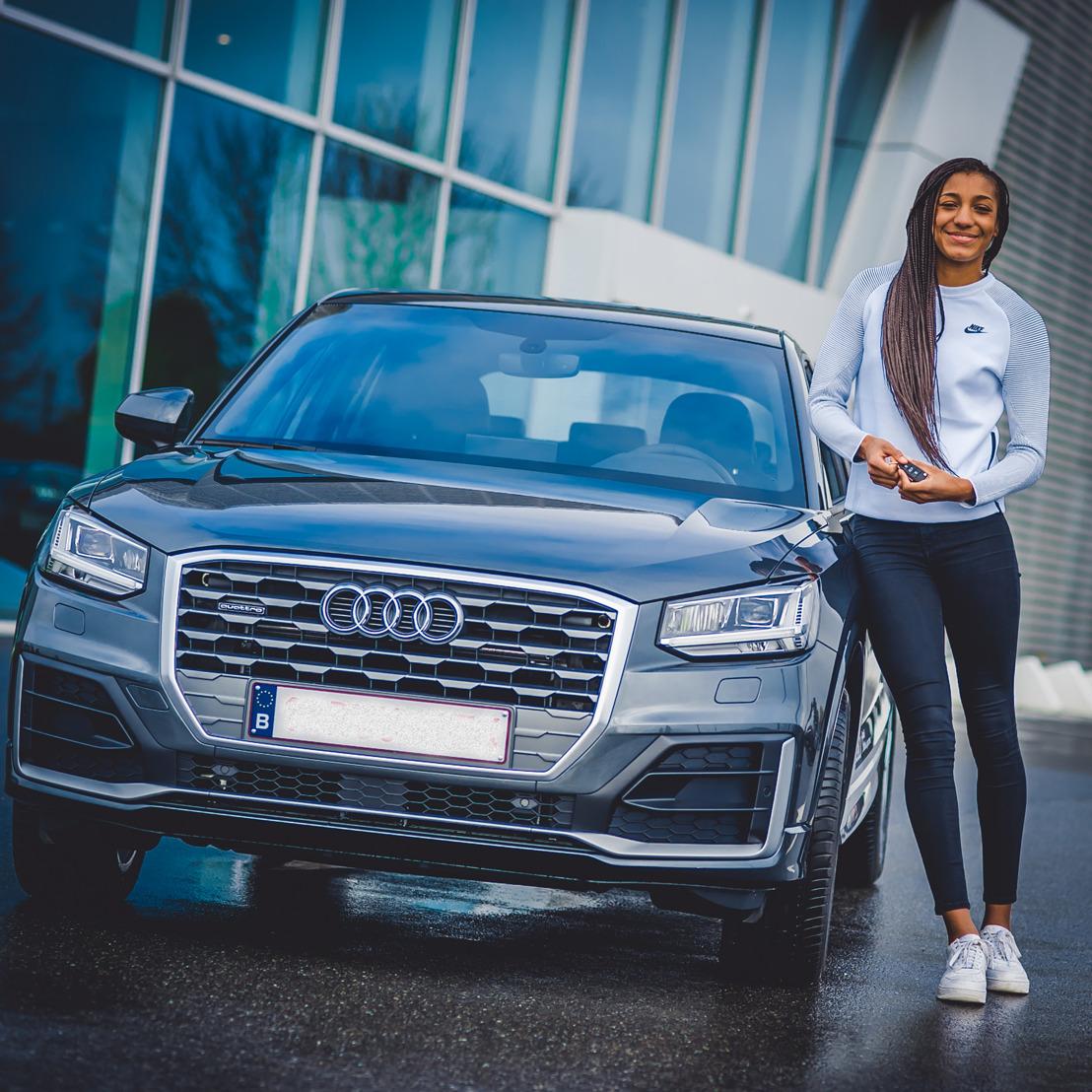 Audi zet zijn partnership met zevenkampster Nafi Thiam voort