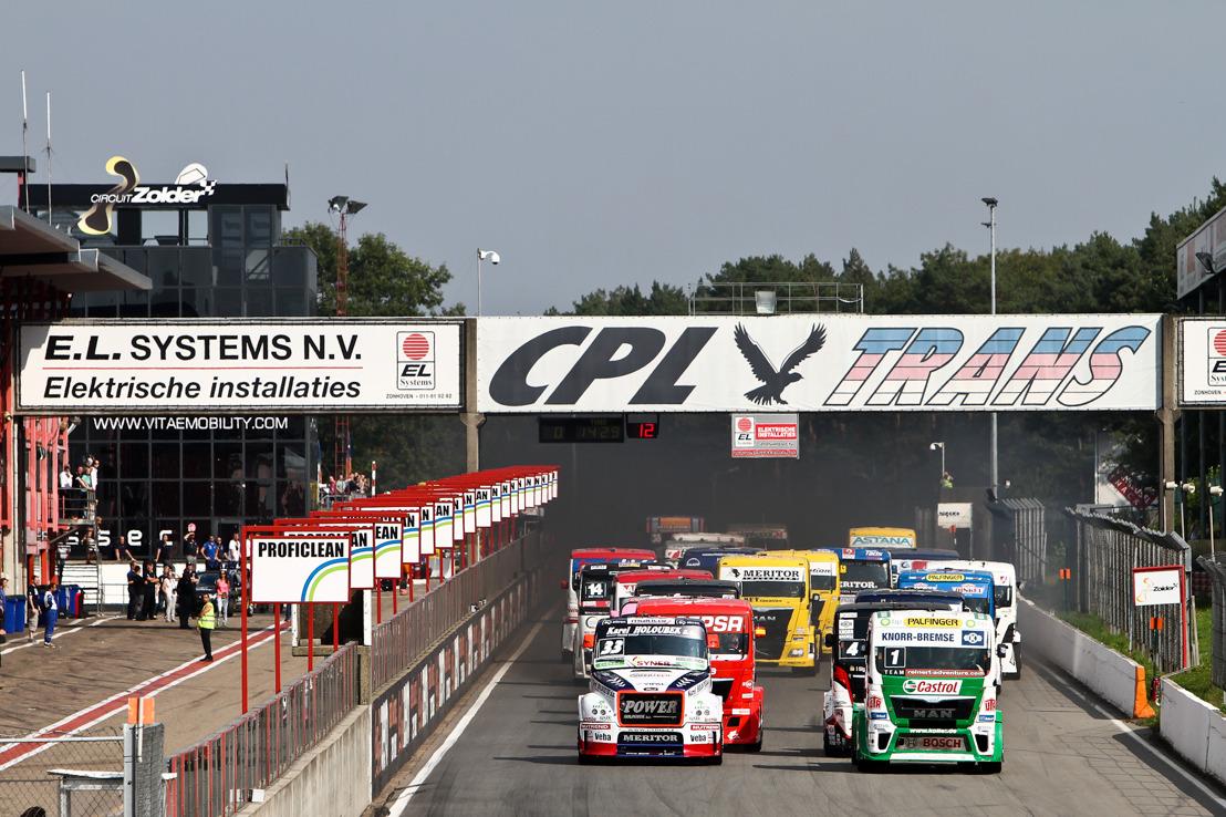 DKV houdt familiedag op FIA Truck Grand Prix