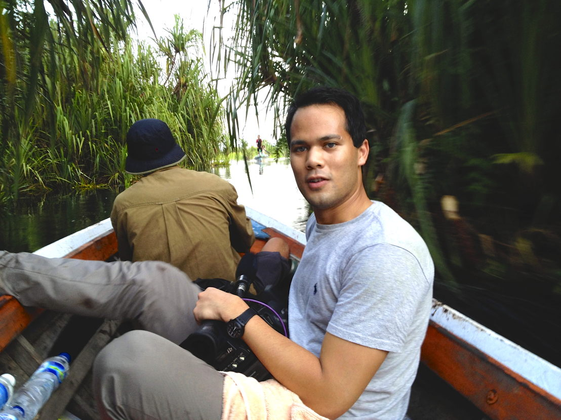Story Hunters video journalist, Auskar Surbakti