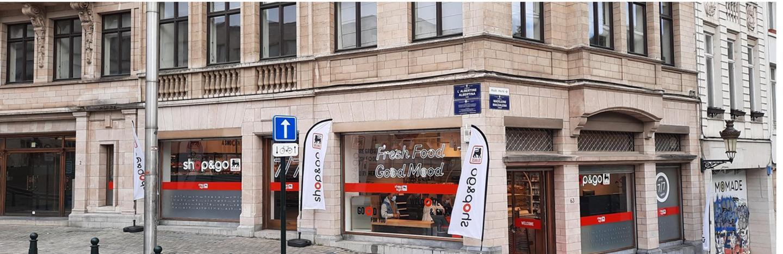 Le nouveau Shop&Go Albertine ouvre ses portes aujourd'hui