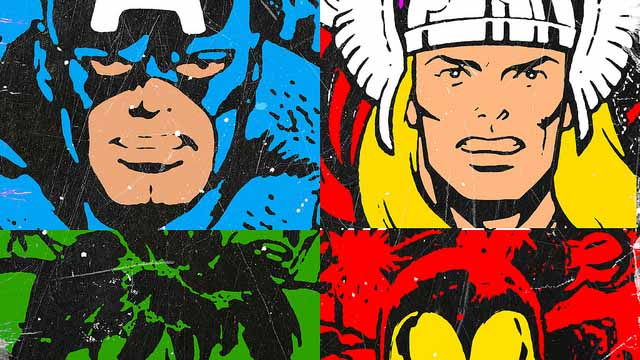 Image: Roland Molnar, Avengers Pop Art, Flickr