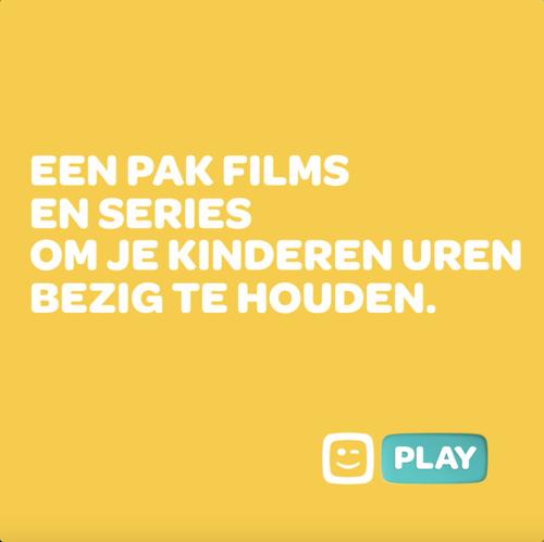 Play van Telenet gaat voor ongegeneerd kijkplezier met TBWA