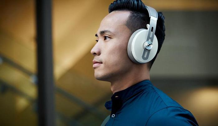 Kopfhörer-Ikone in einer neuen Farbe
