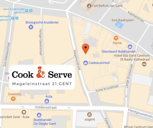 Cook & Serve verrast met nieuwe winkel in Gent