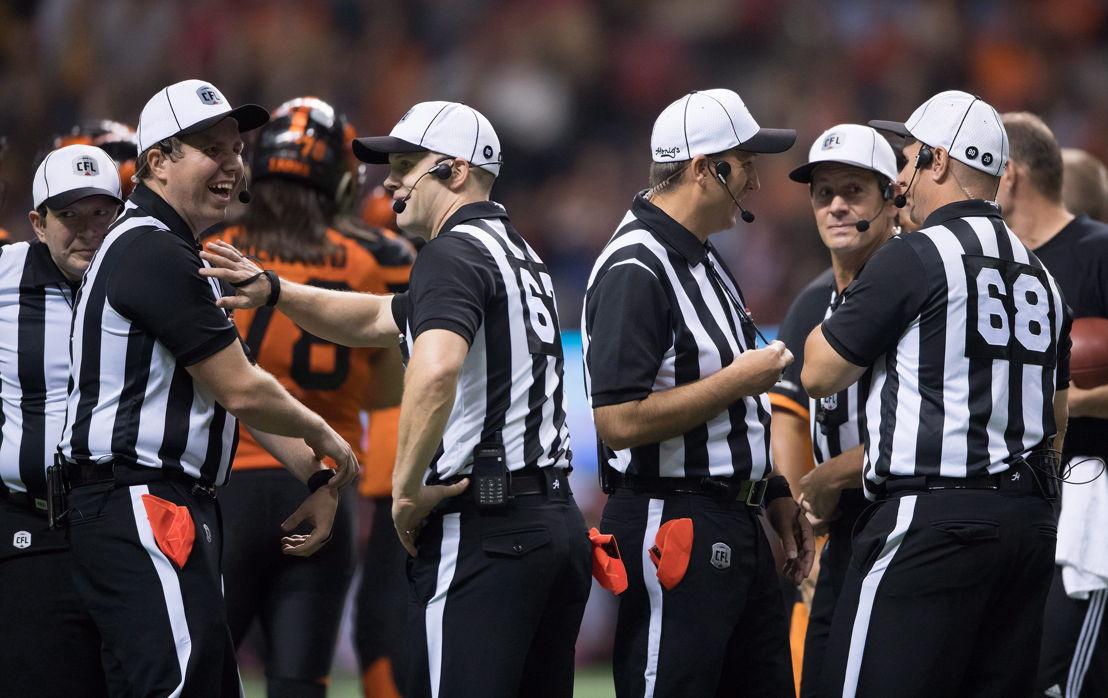 La LCF et la NFL étendent leur programme de développement des officiels. Crédit : Jimmy Jeong/LCF.ca