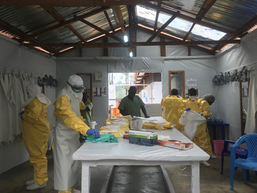 MSF starts enrolling patients in clinical trial of potential Ebola treatments