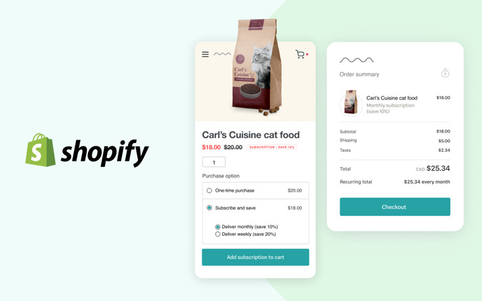 Merchants Can Now Offer Subscriptions and Post-Purchase Upsells Directly in Shopify Checkout