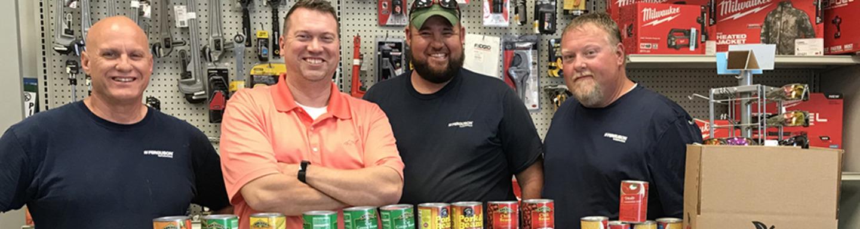 Ferguson donates more than 60,000 meals